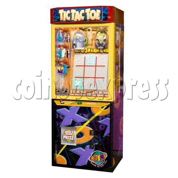 Ultimate Tic Tac Toe Prize Machine 20421