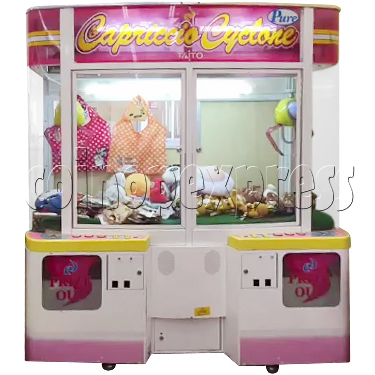 Capriccio Cyclone Pure Crane Machine 34567