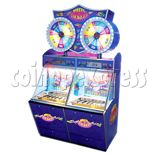 Wheel of Ticket Coin Pusher 20661