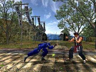 Virtua Fighter 4 Final Tuned Arcade software - game play-3