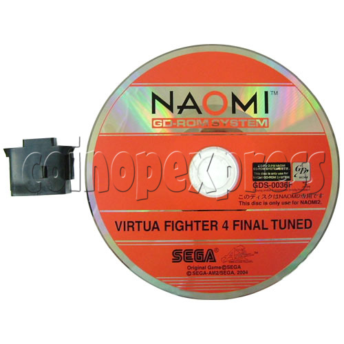 Virtua Fighter 4 Final Tuned Arcade software - CD and IC