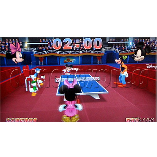 Disney 3D Ping Pong Arcade Machine (2 players) 22940