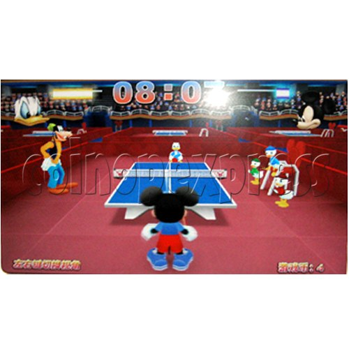 Disney 3D Ping Pong Arcade Machine (2 players) 22941