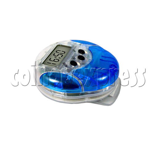 Multi-function Pedometer with Waist clip 22894