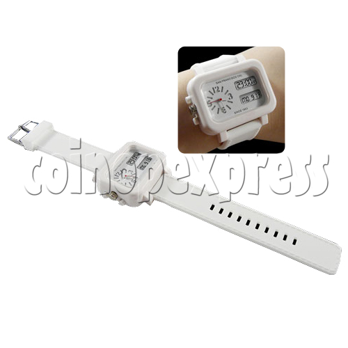 Analog Digital Unisex Quartz Wrist Watches 23868