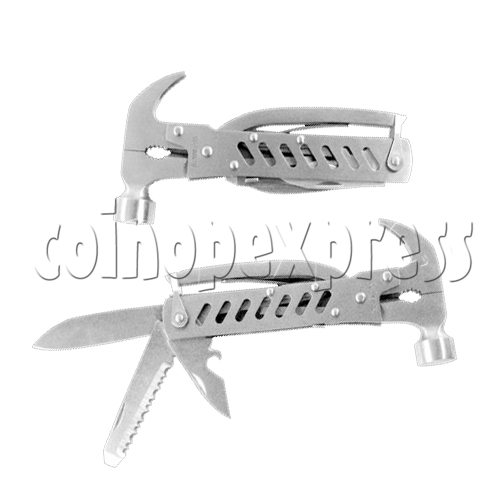 Multi Function Folding Tool With Claw Hammer and Knife 23922