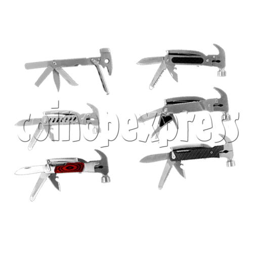 Multi Function Folding Tool With Claw Hammer and Knife 23928