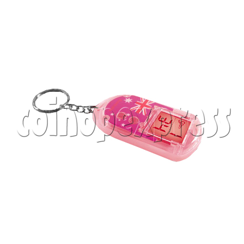 Clock Keyrings With Flashing Light 24313