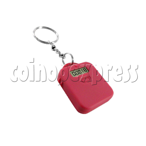Pet Pedometer With Key Chain 24365