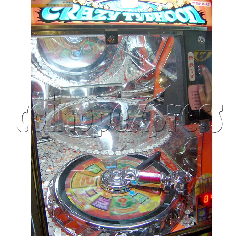 Crazy Typhoon Coin Pusher 24566