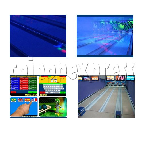 Professional Bowling center (10 lanes) 24660
