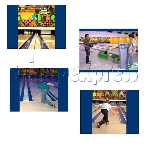 Professional Bowling center (10 lanes) 24661