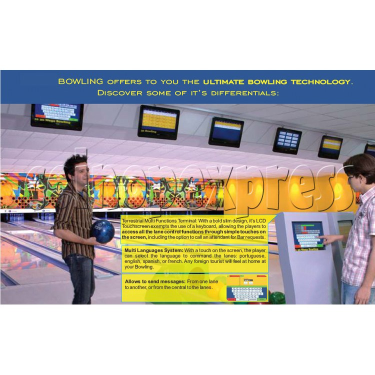 Professional Bowling center (10 lanes) 31701