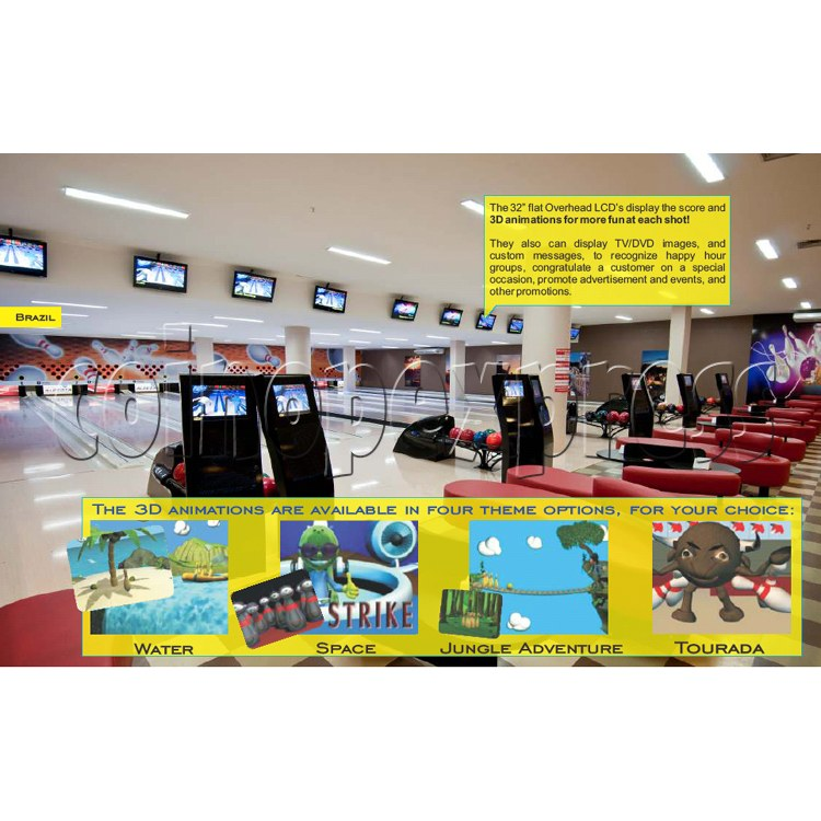 Professional Bowling center (10 lanes) 31702