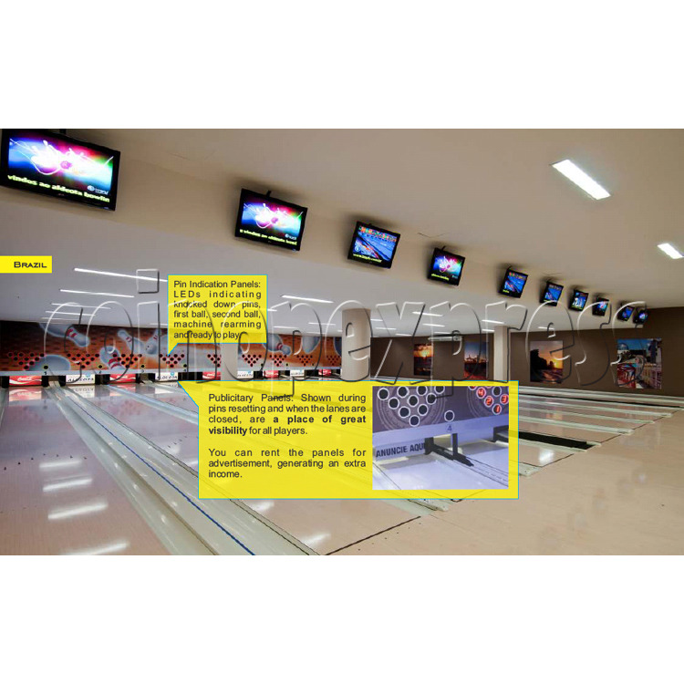 Professional Bowling center (10 lanes) 31703