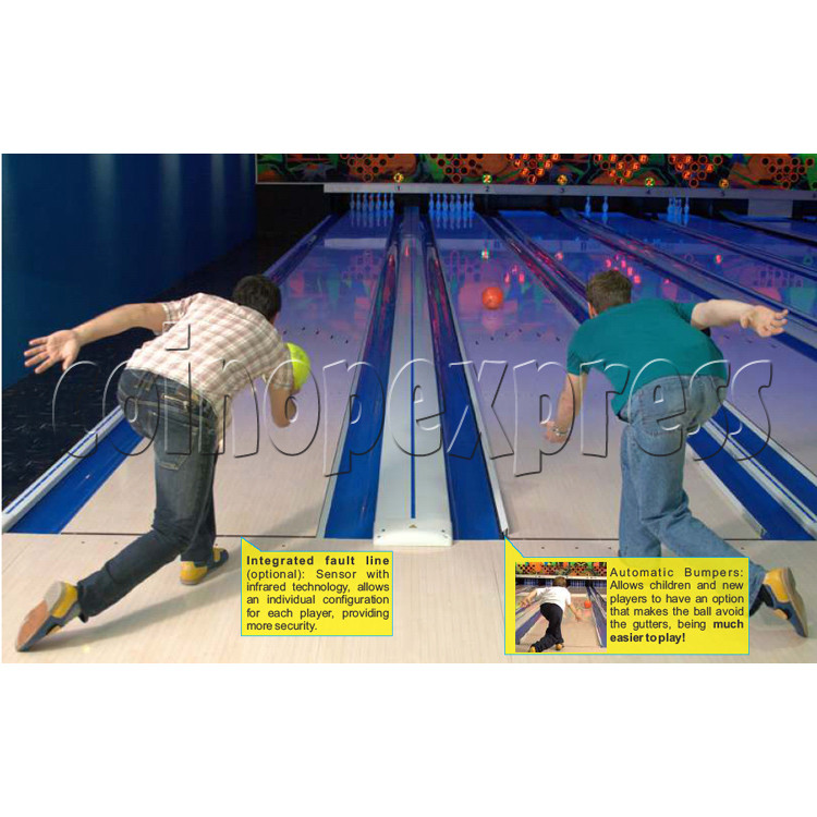 Professional Bowling center (10 lanes) 31705