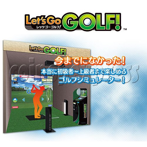 Let's Go Golf Sport Video Game 24681