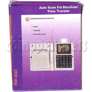 Auto Scan FM Receiver / Time Traveller 2031