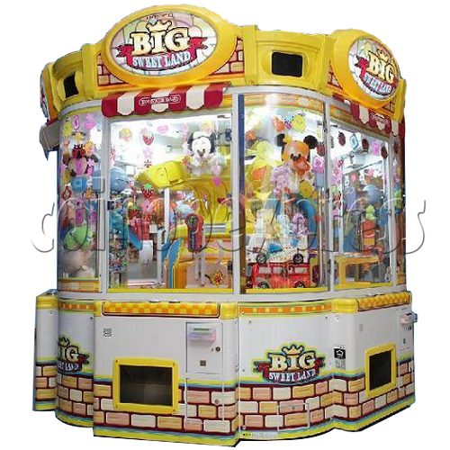 Big Sweet Land With Cooler Prize Machine 25320