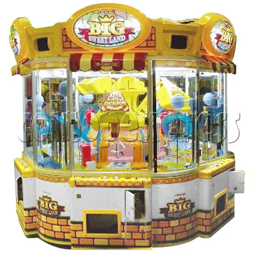 Big Sweet Land With Cooler Prize Machine 30354