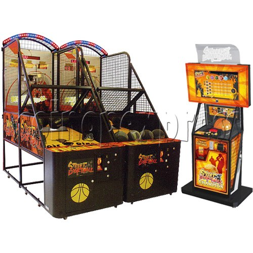 Street Basketball twin machine with server 27011