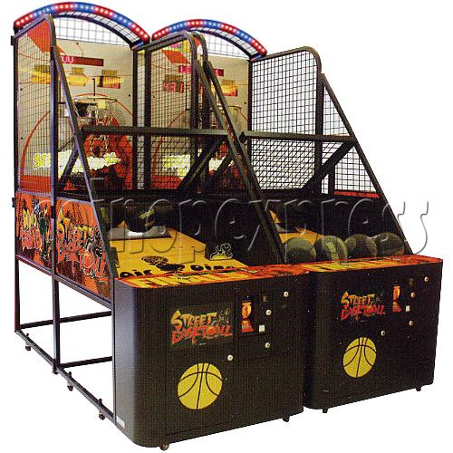 Street Basketball twin machine with server 27012