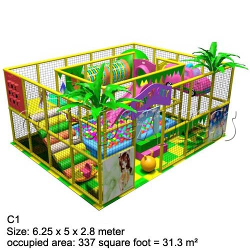 Mini Indoor Playground (339 square feet) 27457