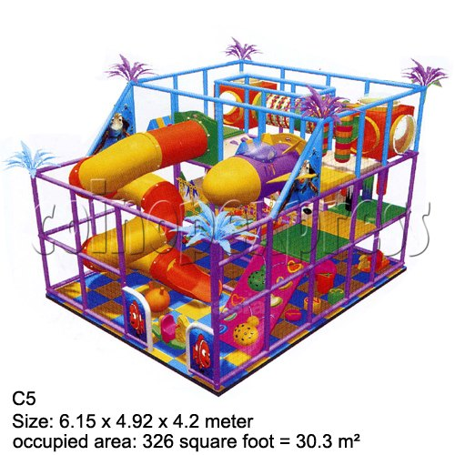 Mini Indoor Playground (339 square feet) 27860