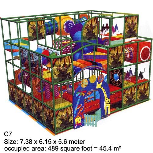 Mini Indoor Playground (339 square feet) 27862