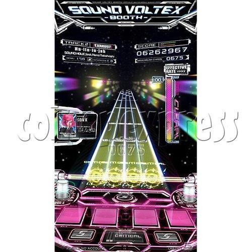 Sound Voltex 4 Arcade Machine online
