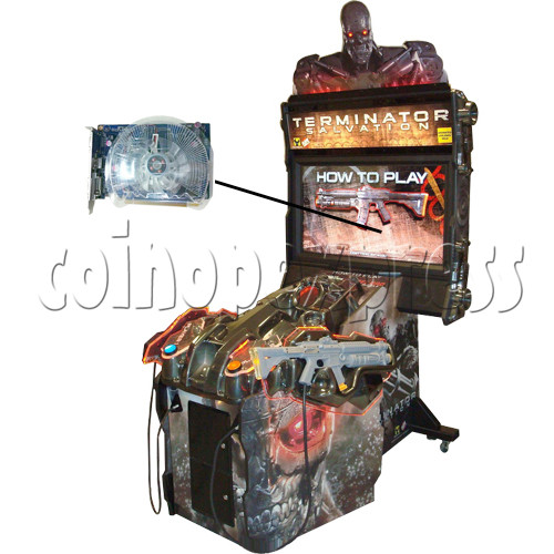 Video Card for Terminator Salvation game 28172