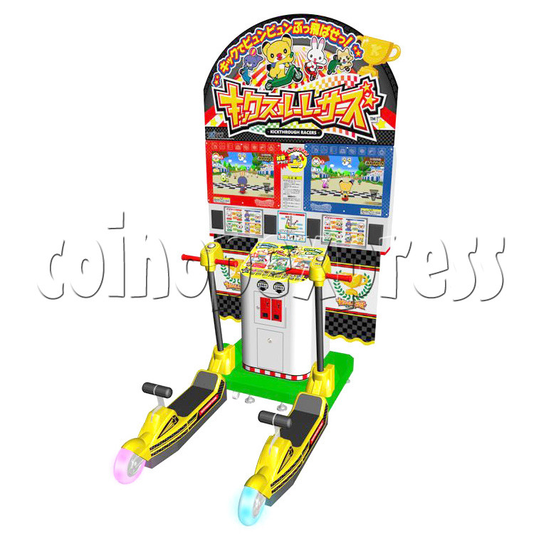 Kick Through Racers Sport Game 28546