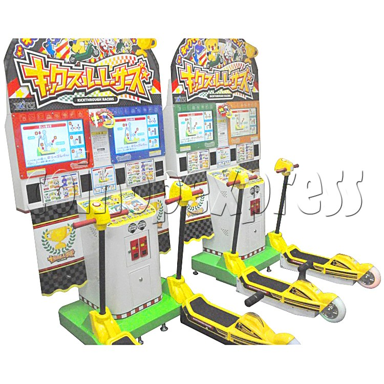 Kick Through Racers Sport Game 28548