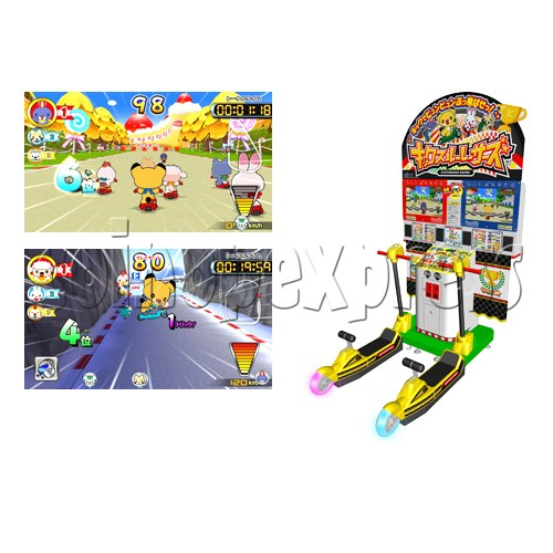 Kick Through Racers Sport Game 28549