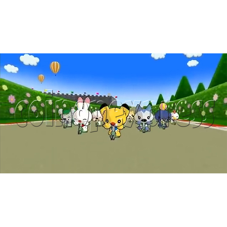 Kick Through Racers Sport Game 33038
