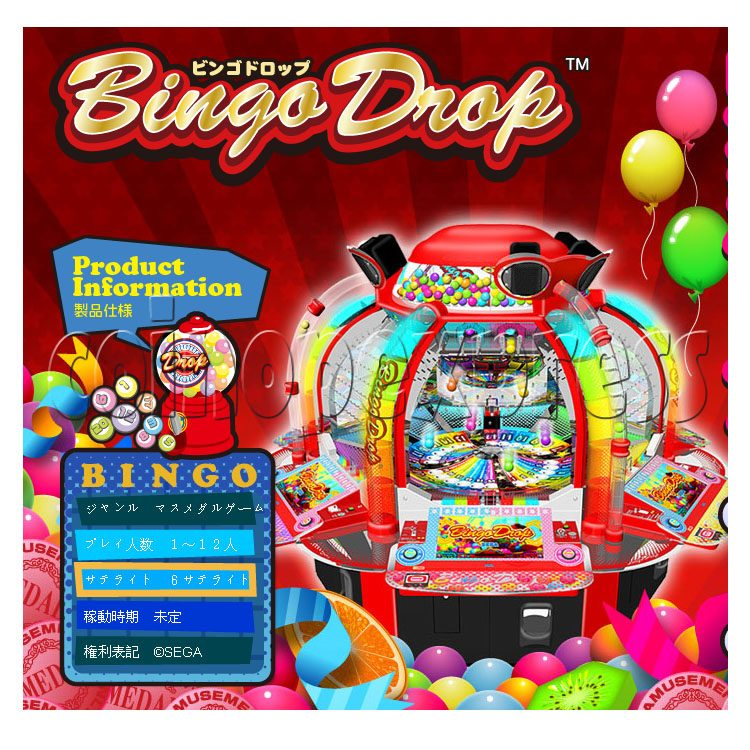 Bingo Drop Medal Game ( 12 players) 28509