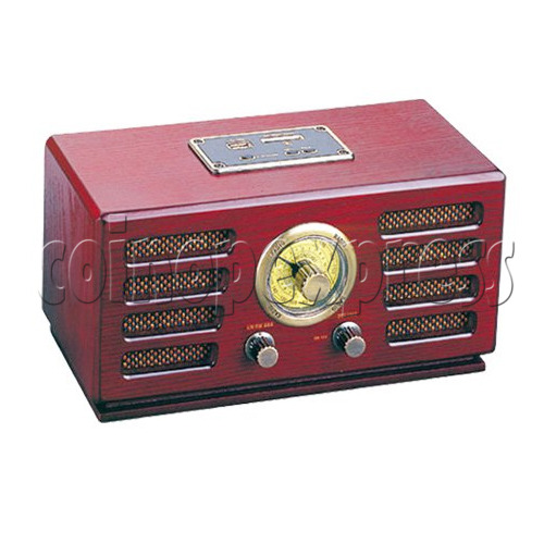 Wooden Radio Jukebox with USB/ SD/ MMC Card player 28518