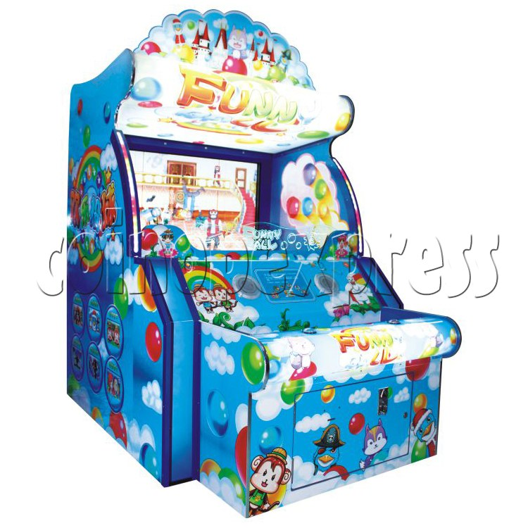 Video Toss Funny Ball Game (with 55 inch LCD screen) 28730