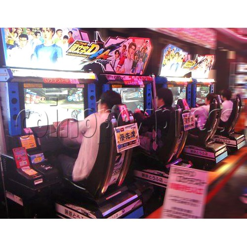 Initial D' Arcade Stage Version 7 AA X 28783