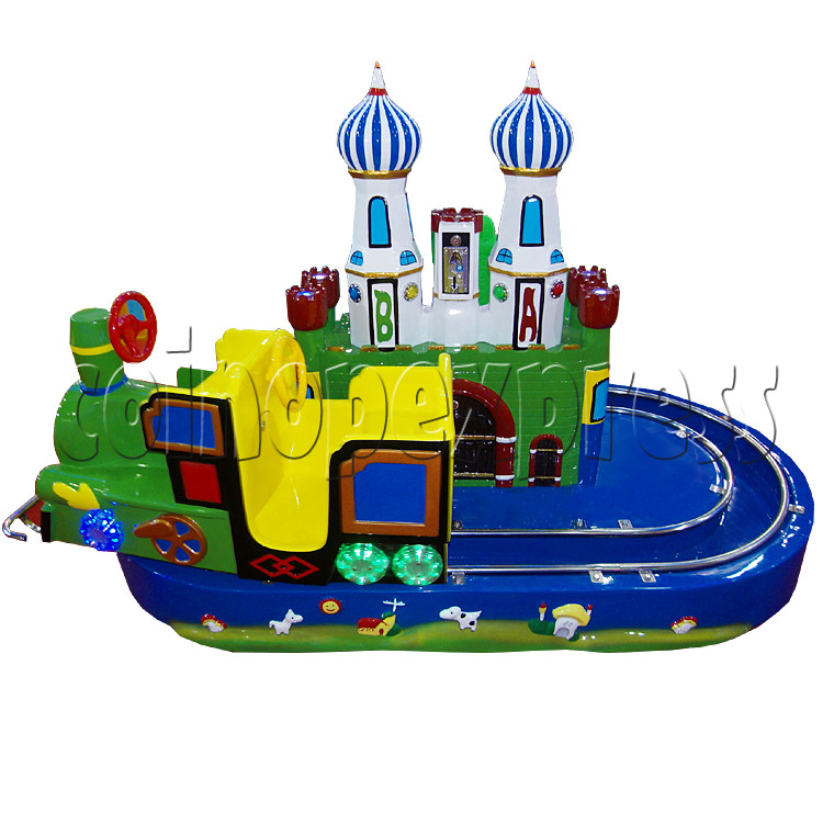 Castle Train Kiddie Ride 28950