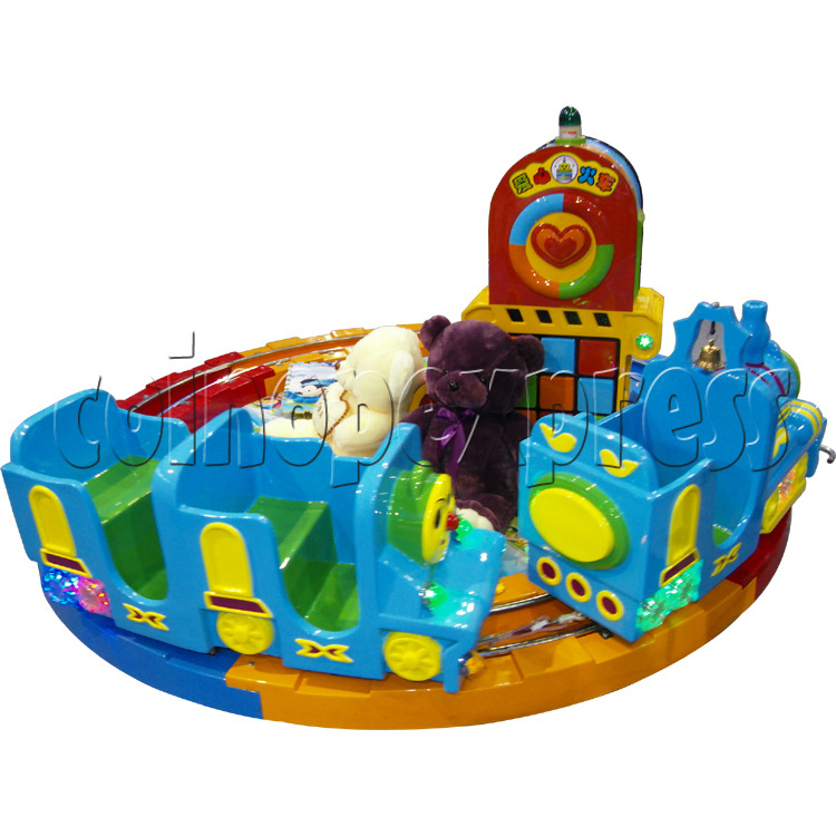 Train Race kiddie ride (3 players) 28977