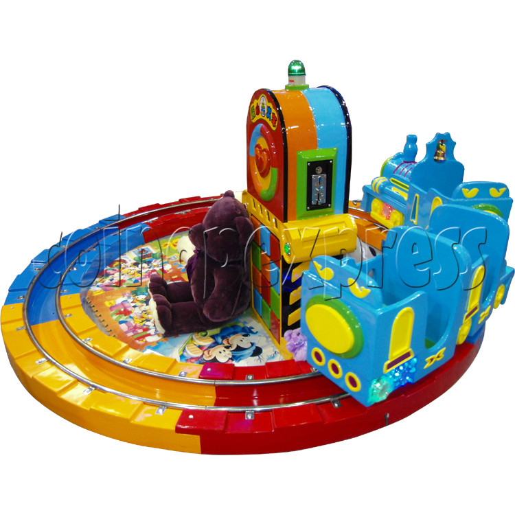 Train Race kiddie ride (3 players) 28978