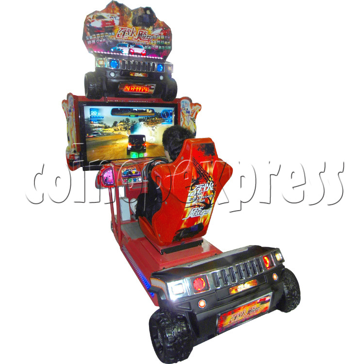 Crashing Car Racing machine 29070