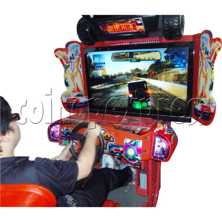 Crashing Car Racing machine 29073