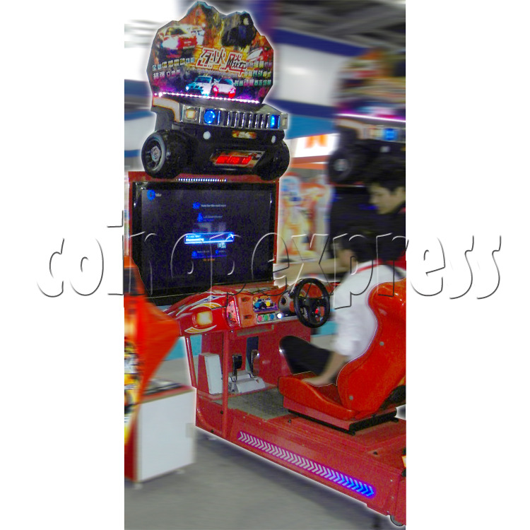 Crashing Car Racing machine 29074