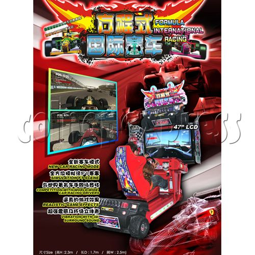 Formula One Car World Championship Racing game 29078