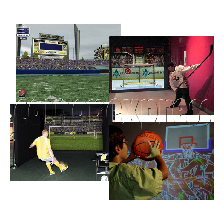 Visual Sports Simulators (6 in 1) 29096