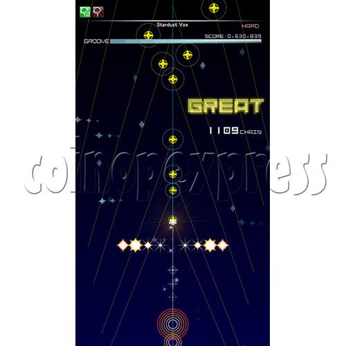 Groove Coaster Arcade Machine