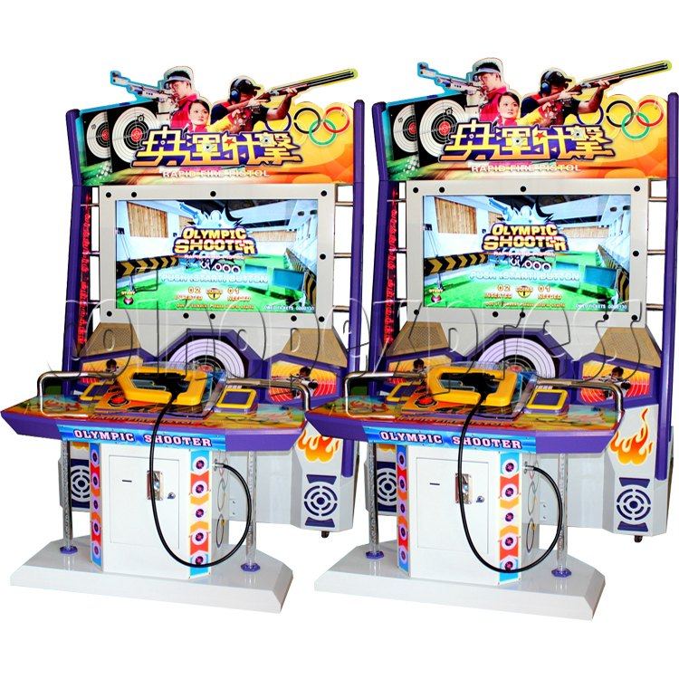 Olympic Shooting Arcade Machine 30987