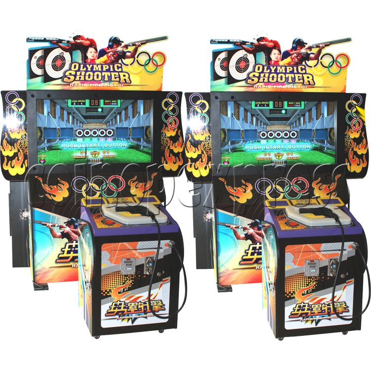 Olympic Shooting Arcade Machine 30988
